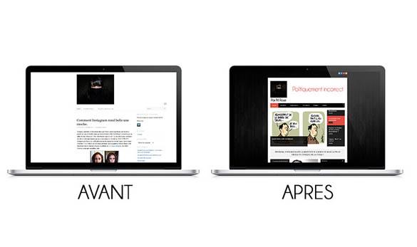 Refonte de site - Blog Magazine - Agence web