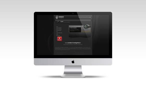 Site internet détective privé - Agence web