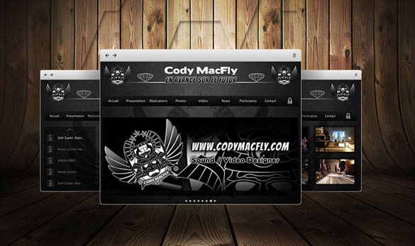 Site internet - Ingenieur du son - Cody MacFly Pictures