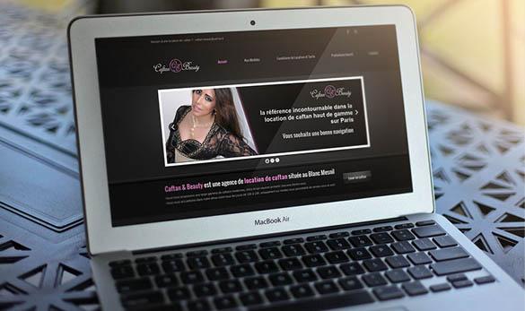 Site Internet - Location de robe de soirée et caftans