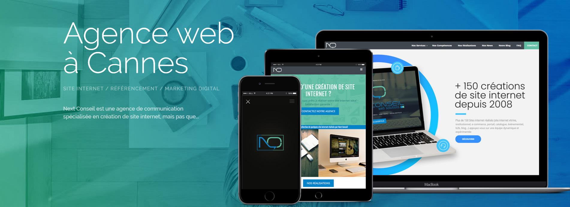 Agence web à Cannes - création de site internet