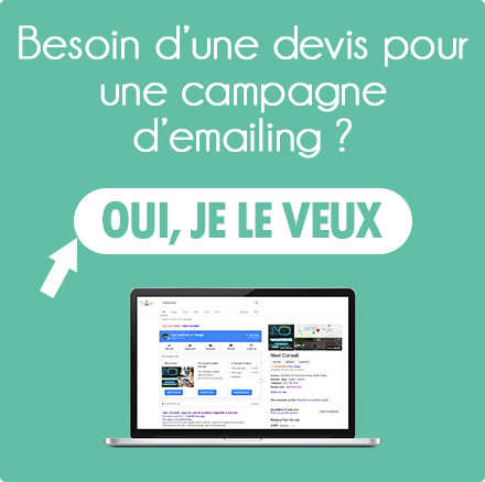 Besoin d'un devis pour une campagne d'emailing