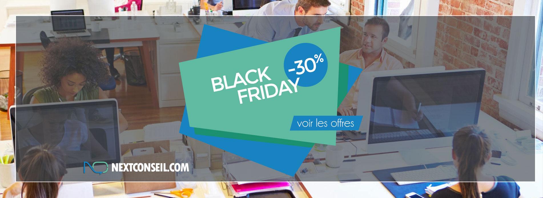 BLACK FRIDAY : 30% de remise sur votre création de site web !