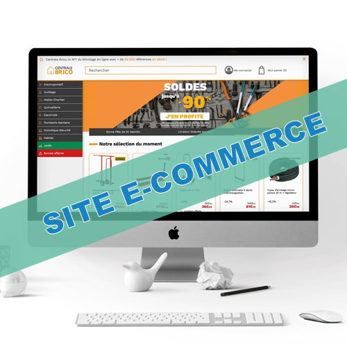 Cyber Monday - Offre Création Site E-Commerce