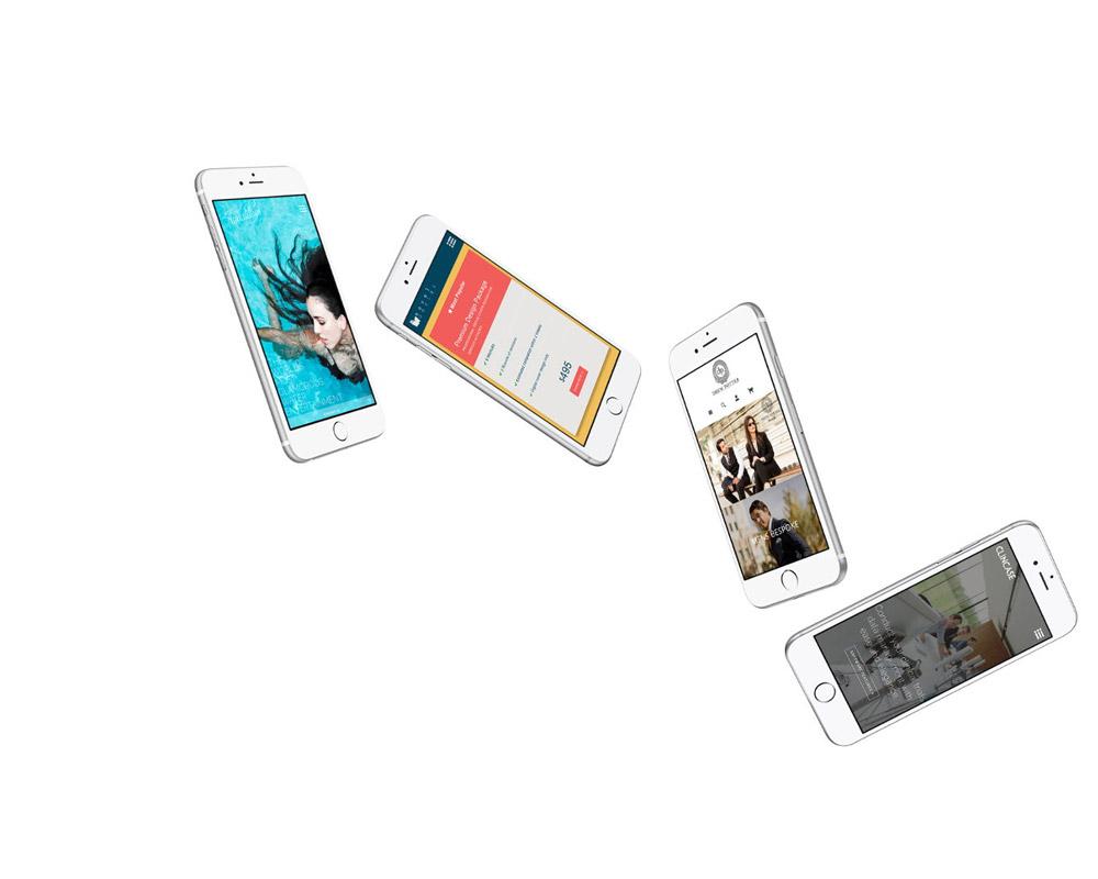 refonte de site internet à Antibes pour mobile