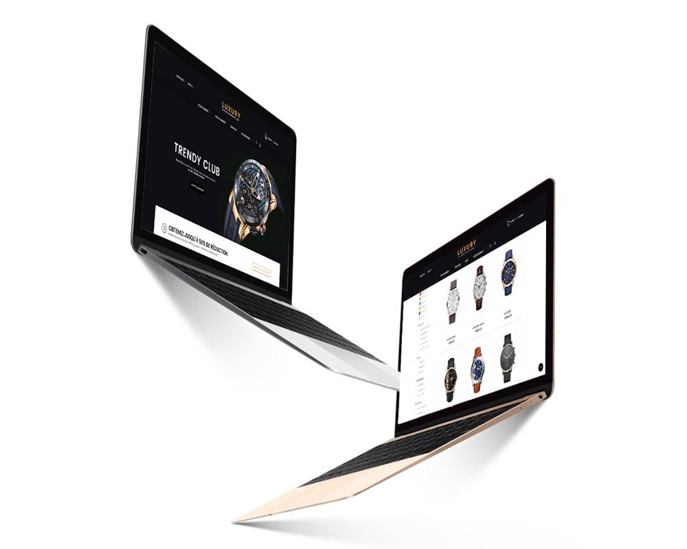 Création de site vitrine agence web