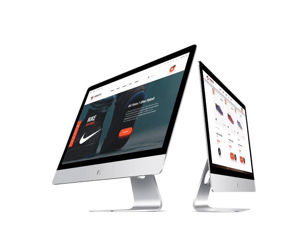 Création site mobile e-commerce