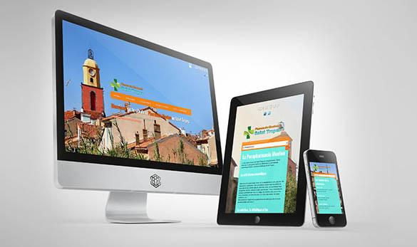 Site internet - Pharmacie Saint-Tropez - Agence Web