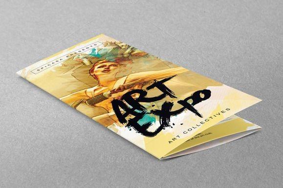 Plaquette promotionnelle 3 volets - Plis roulés - Format A6