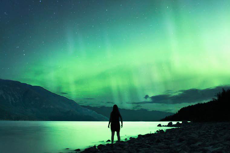Elizabeth Gadd photographie ciel turquoise
