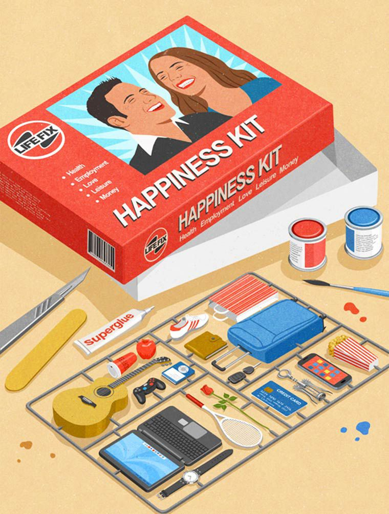happiness kit john holcroft pack
