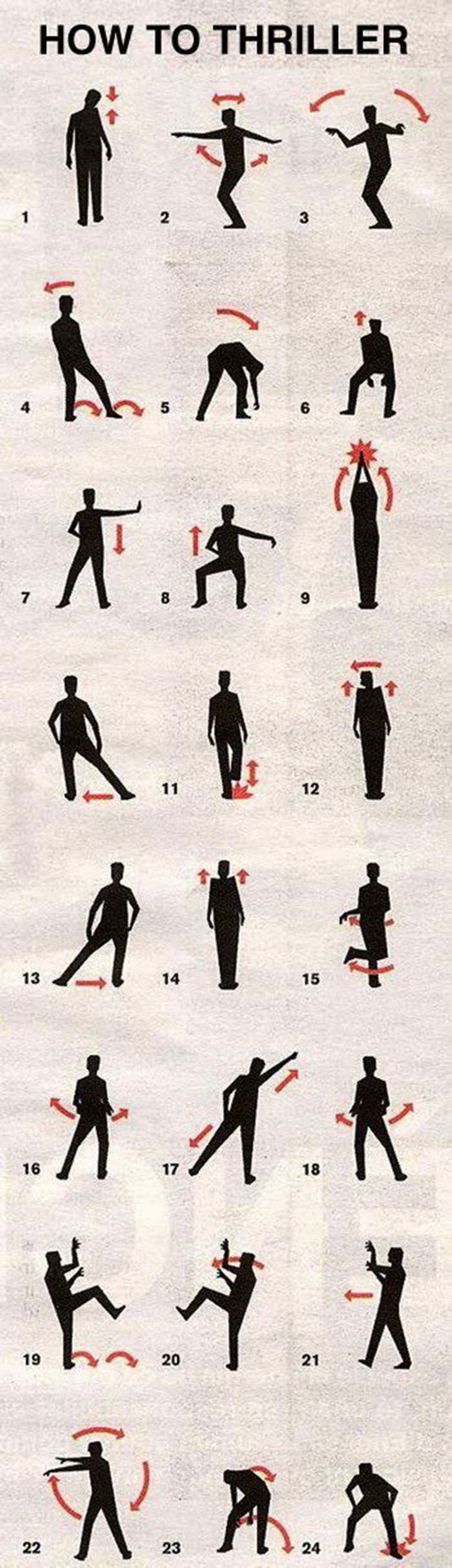 how to thriller mj