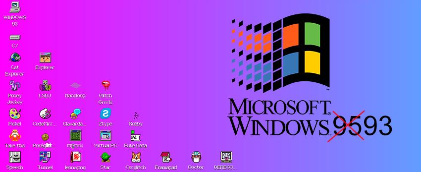 Windows 93 à tester depuis votre naviguateur