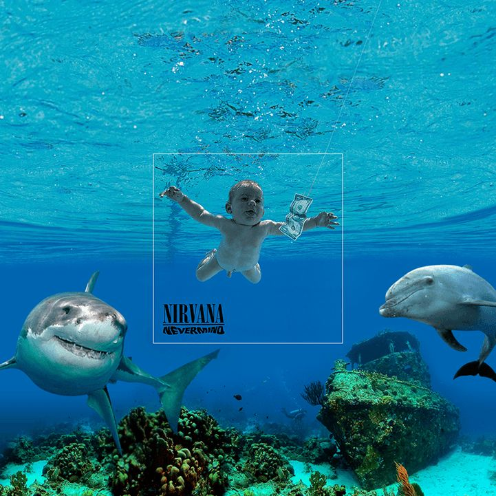 Nirvana nevermind reprise design