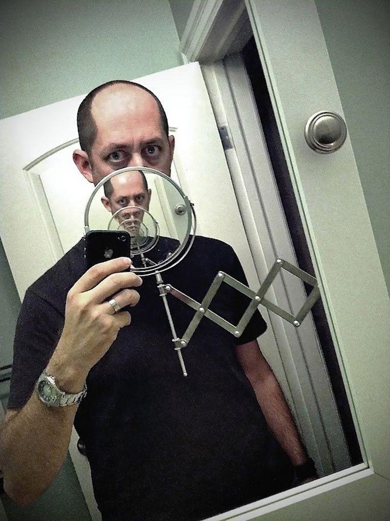 selfie bouche infini