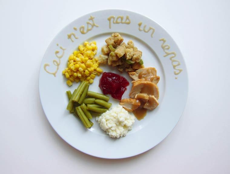 thanksgiving repas 2014