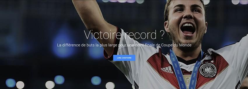 1 victoire record demi finale coupe du monde