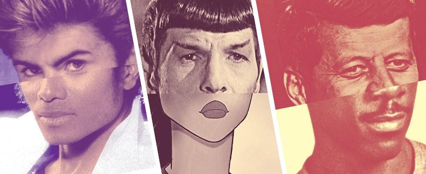 30 photomontages tordants de célébrités et personnages populaires – Georges Michael Jackson…