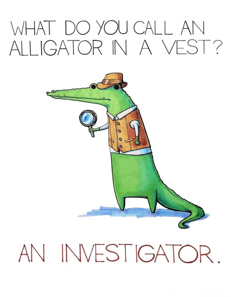 alligator-funny