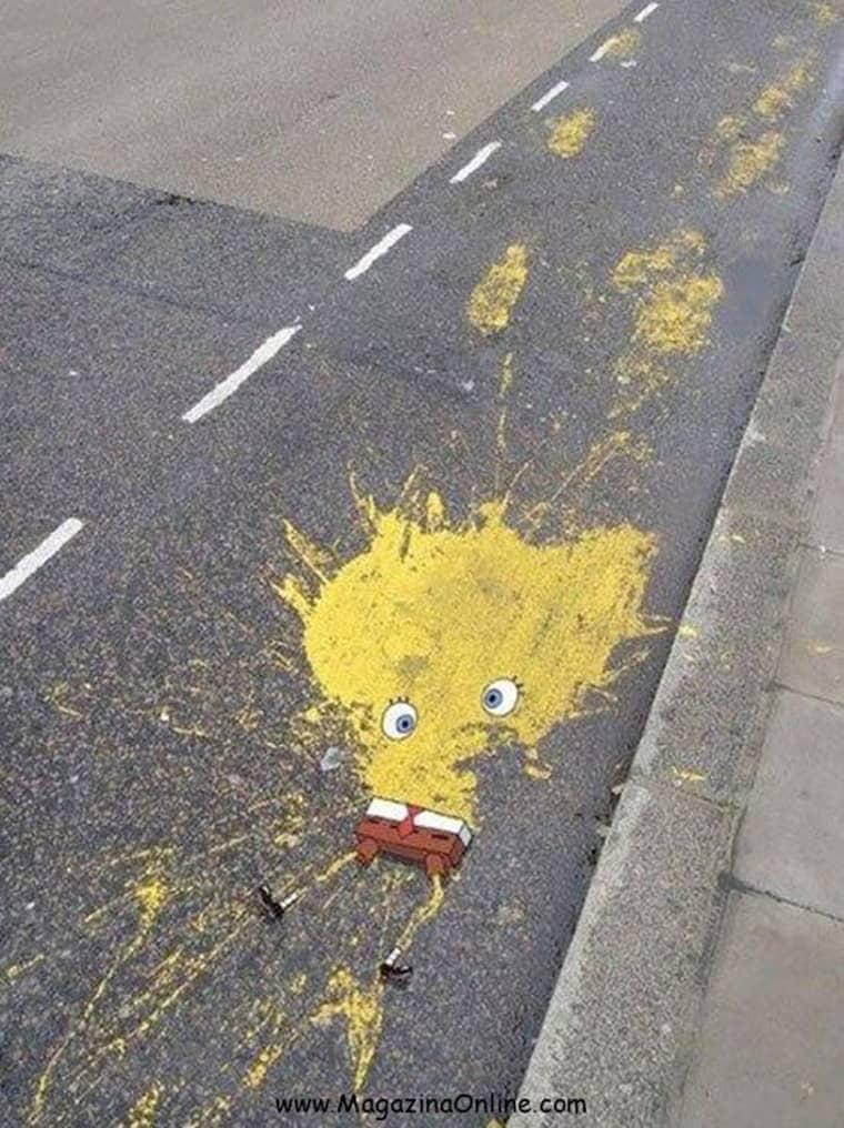 bob-eponge-ecrase-route