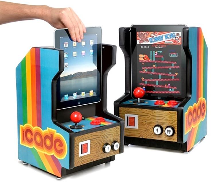 borne arcade pour ipad