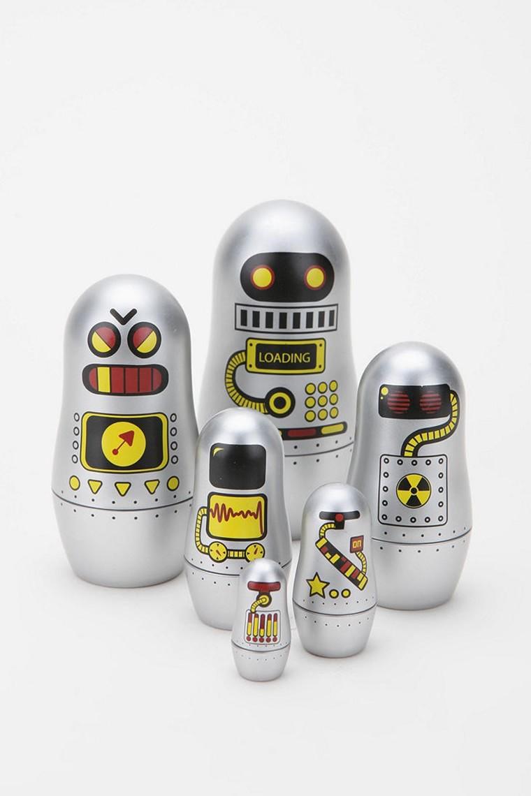 famille robot poupees russes