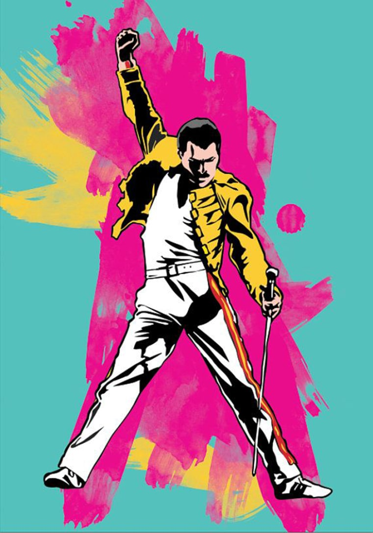 freddy-mercury-queens-pop-art