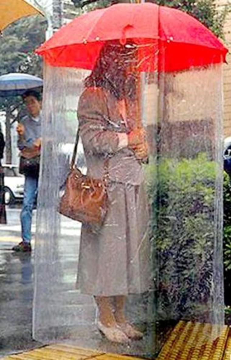 gadget pour parapluie