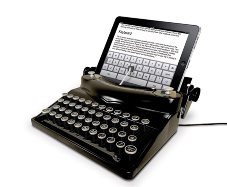 machine a ecrire pour tablette ipad