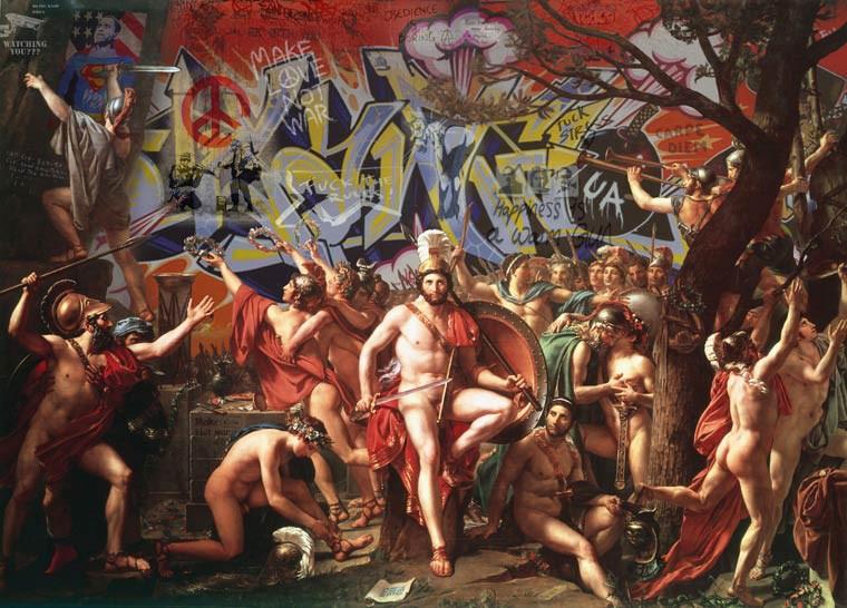 marco battaglini street art renaissance