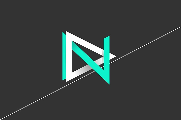 Marie brun logo design