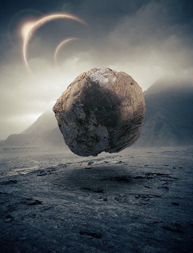 Max rocher flottant espace