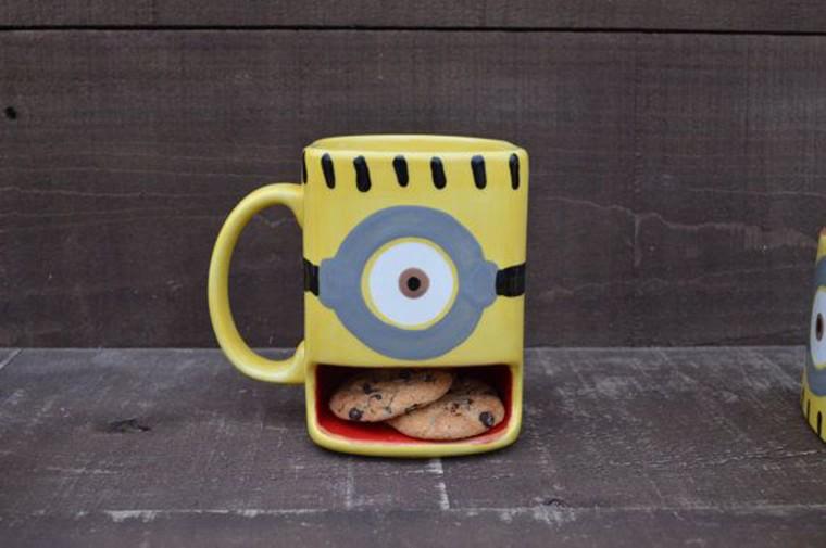 minion mug cookie