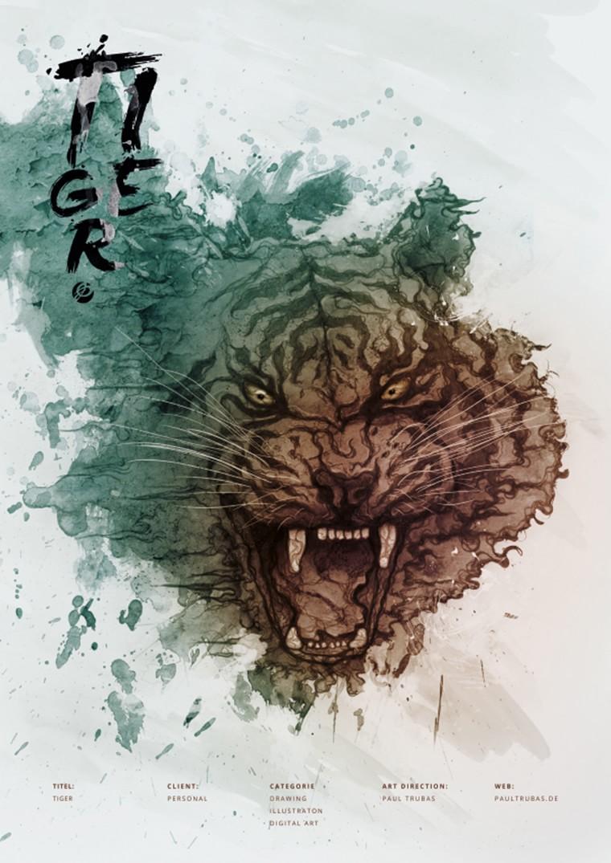 Paul trubas tigre