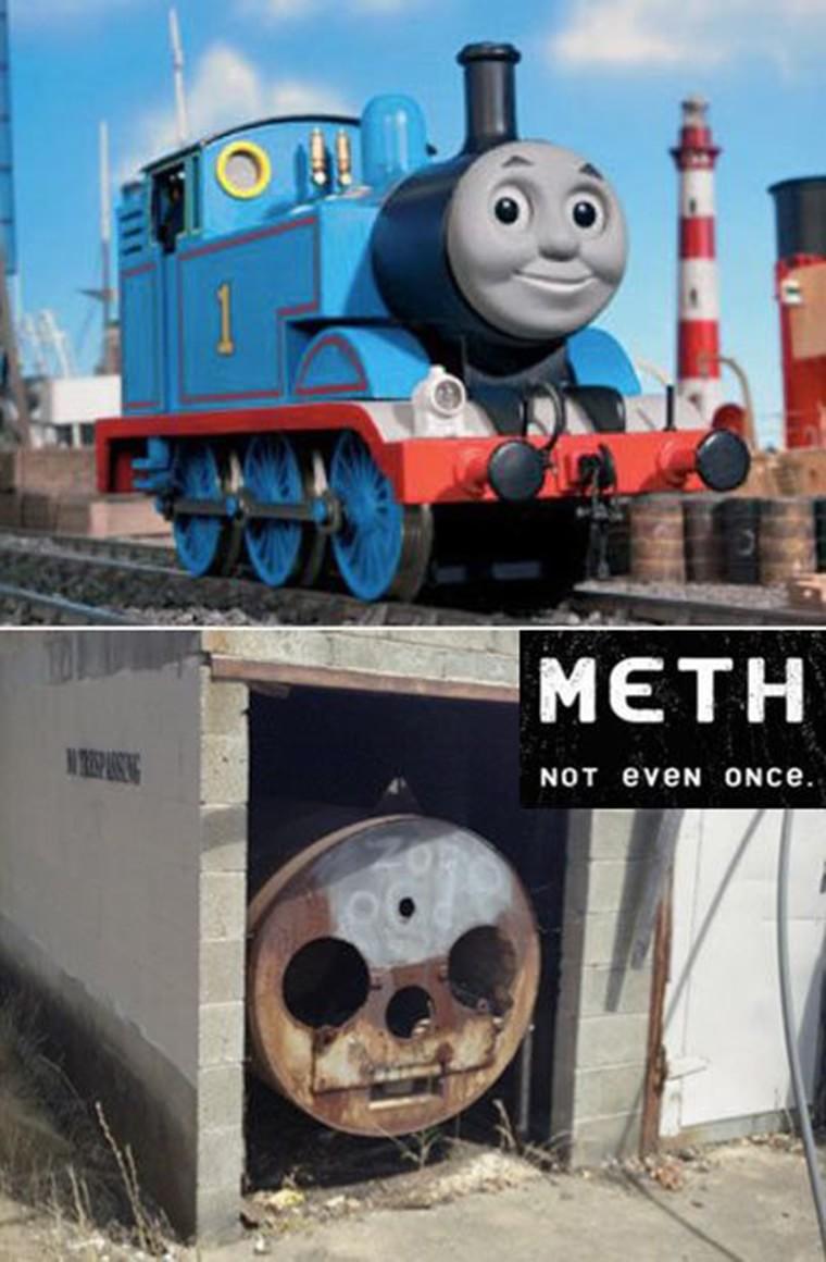 Thomas the meth addict