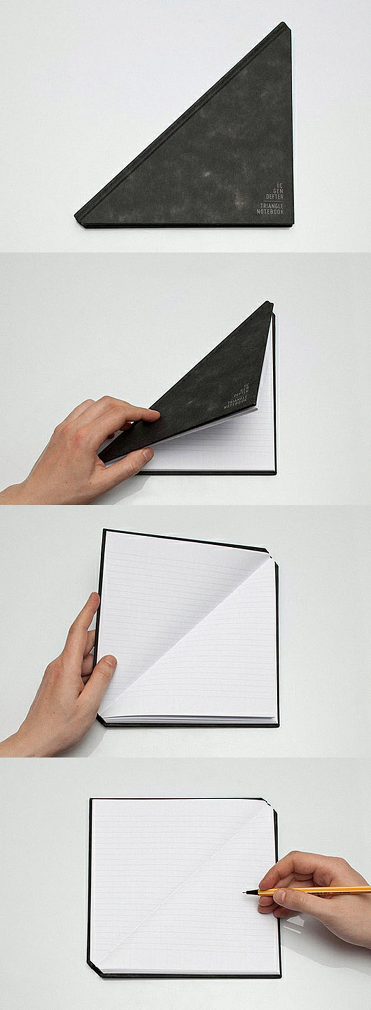 Triangle-notebook