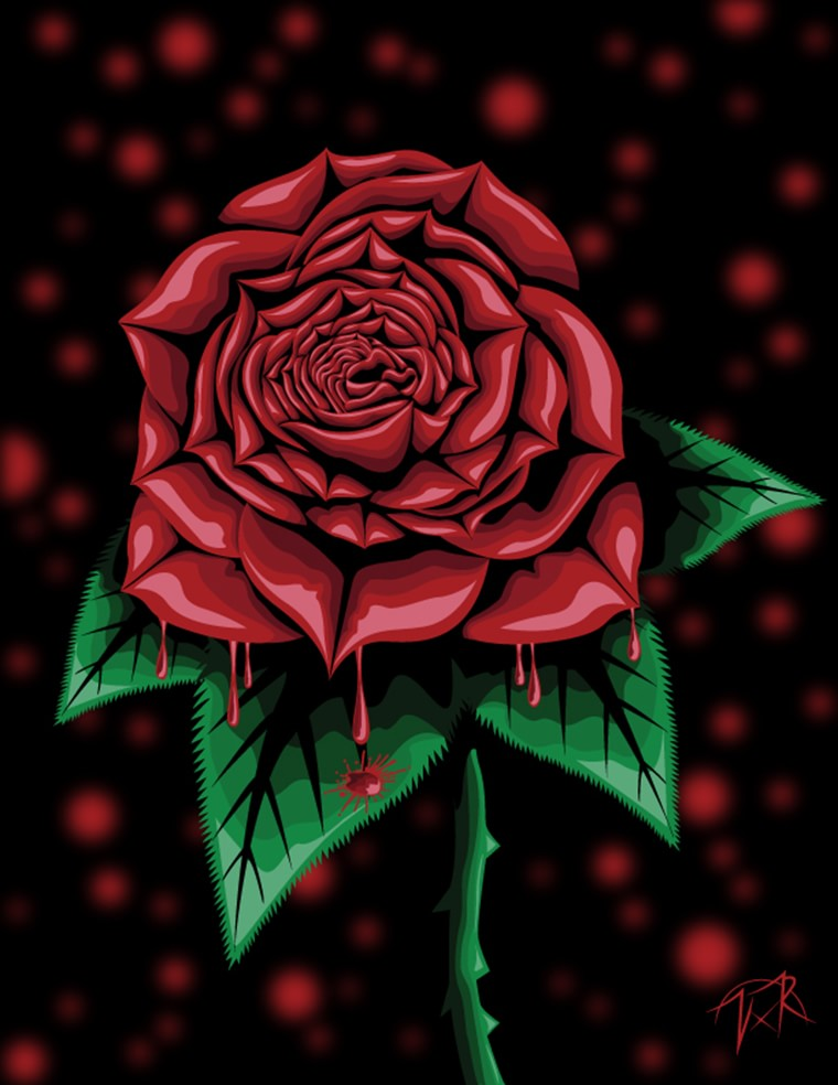 vice royed rose qui saigne