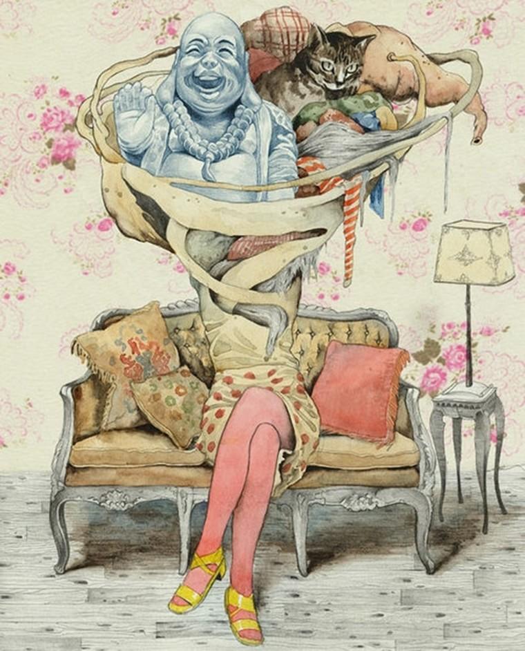 femme sofa