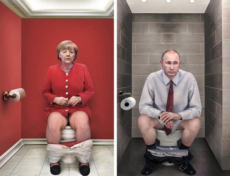 Il Dovere Quotidiano dirigeant politique toilettes
