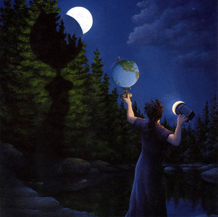 Illusion Robert Gonsalves eclispe