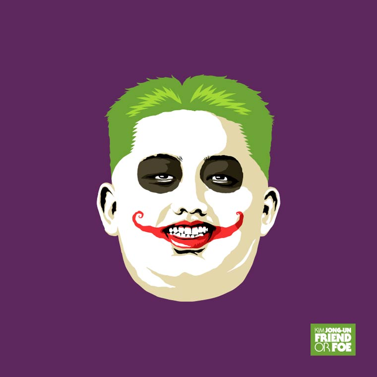 kim jong un batman the joker