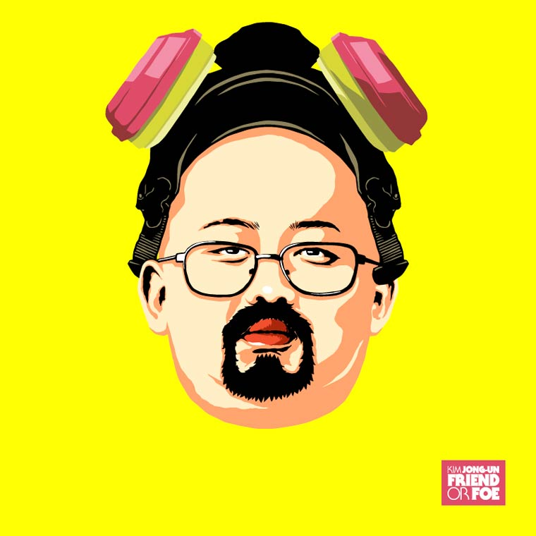 kim jong un breaking bad walter white heisenberg