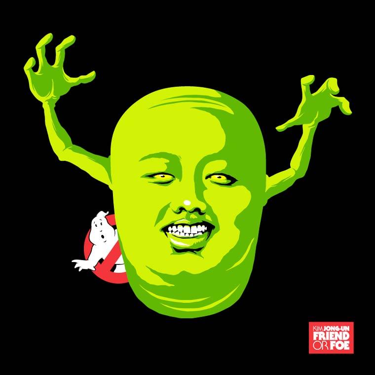 kim jong un ghost buster