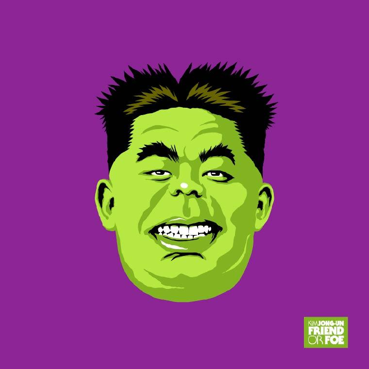 kim jong un hulk marvel avengers
