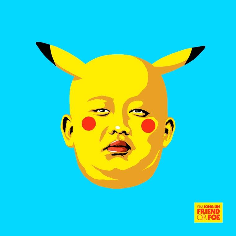 kim jong un pikachu