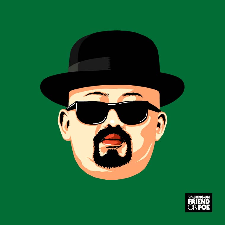 kim jong un pop walter white breaking bad
