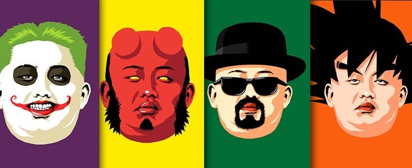 Kim Jong-Un nouvel icône de la Pop Culture