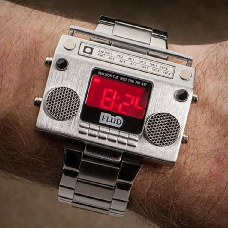 old school montre digitale