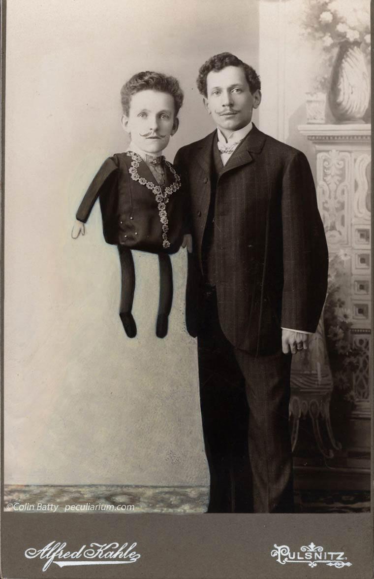 Peculiarium Colin Batty homme ventriloque