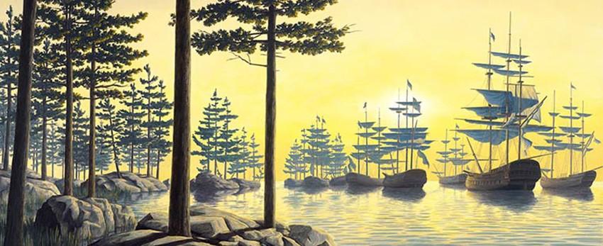 25 peintures incroyables, réalisées par le maître de l'illusion Rob Gonsalves